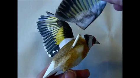paper craft birds incredibly realistic 3d papercraft bird