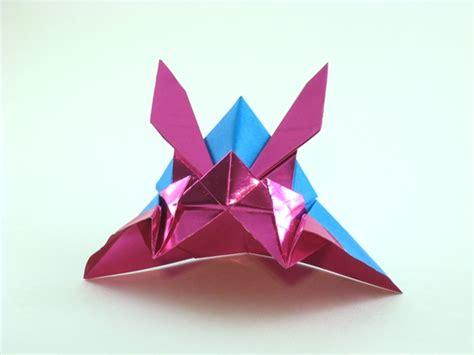 origami samurai helmet samurai helmet hamada isamu gilad s origami page