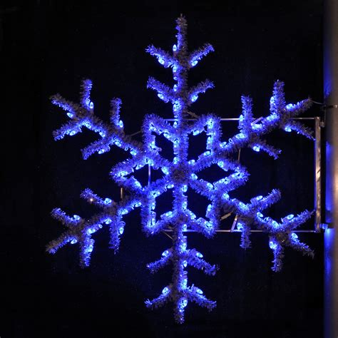 outdoor snowflake decorations shop lighting specialists 5 ft garland snowflake