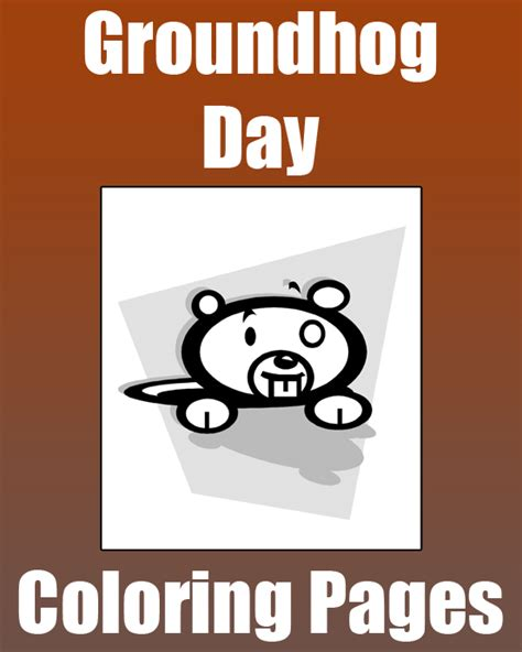 groundhog day play groundhog day coloring pages primarygames play free