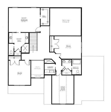 Northwest Floor Plans town amp country home