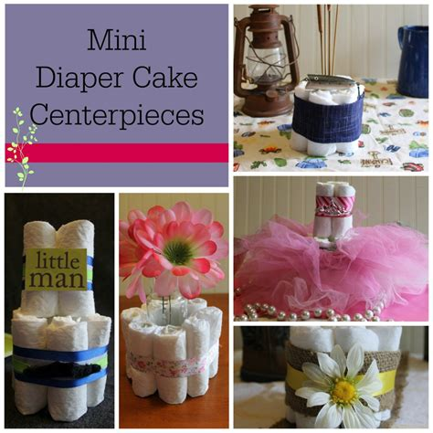 how to make cake centerpieces diy baby shower centerpieces using diapers frugal fanatic