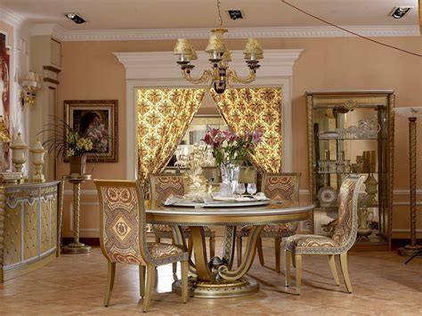 dining room themes luxury dining room design with gold color theme