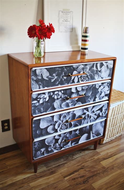 decoupage dresser project restyle photo decoupage a beautiful mess