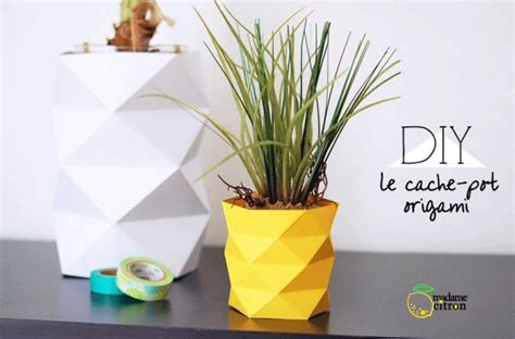 origami flower pot how to decorate pots with paper origami paper origami guide