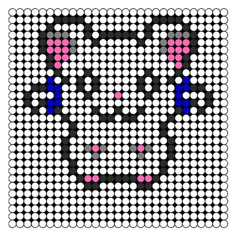perler bead sprite patterns hamtaro bijou perler sprite perler bead pattern bead