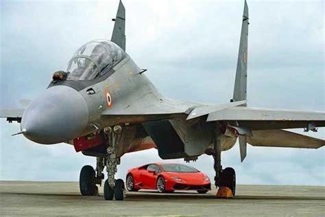 Lamborghini Huracán vs Indian Air Force?s Sukhoi Su 30MKI