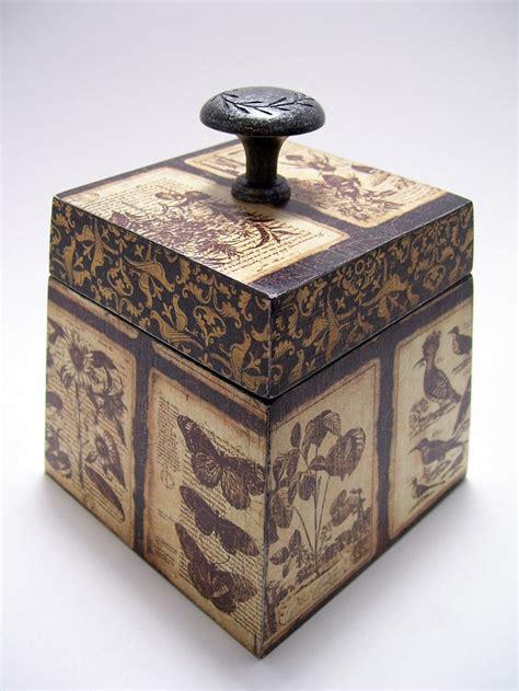decoupaged boxes best 25 decoupage box ideas on diy decoupage