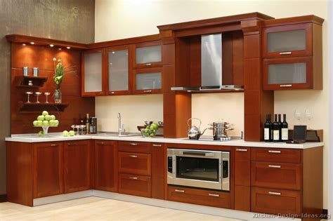 wooden kitchen cabinets designs pictures of kitchens modern medium wood kitchen cabinets