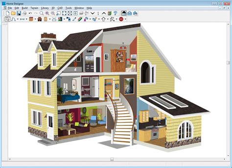 3d home architect design 11 free and open source software for architecture or cad