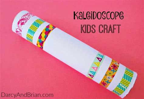 kaleidoscope craft for our crafty world