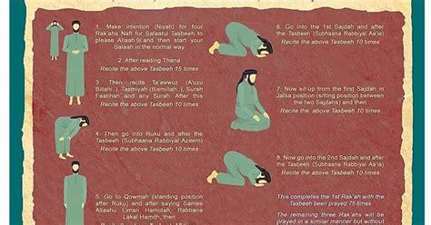 how many on a tasbih my sweet islam salaatul tasbeeh prayer how to perform