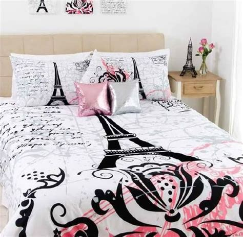 eiffel tower comforter sets stunning eiffel tower black flocking size