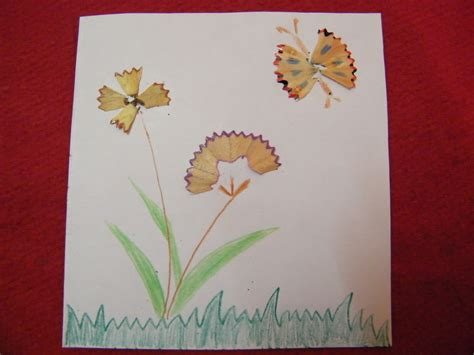 how to make arts and crafts out of paper how to make pencil shavings crafts activities