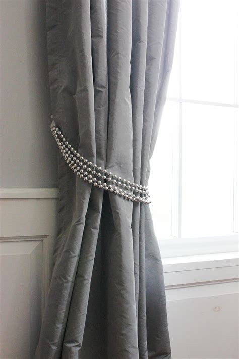 how to make curtain tie backs with diy decorative curtain tie backs goodwill industries of