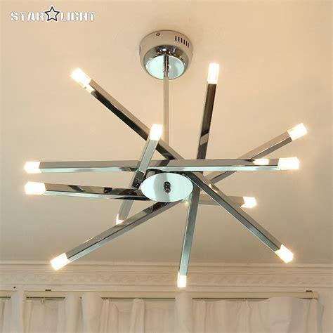 led ceiling lights for home modern led ceiling light modern chrome home fixtures