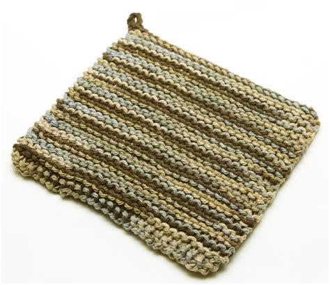 knit potholder pattern pot holder knitting pattern a knitting