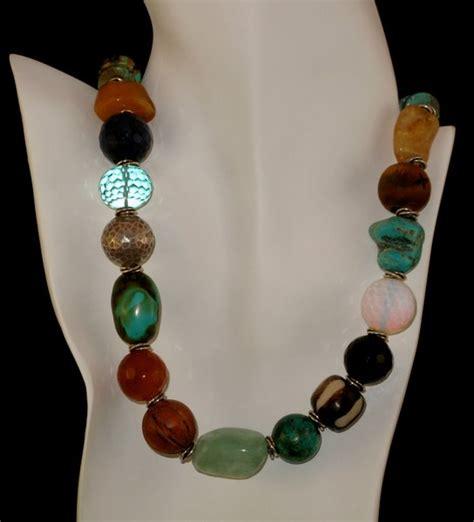 semi precious stones jewelry semi precious necklace toni hurlbut