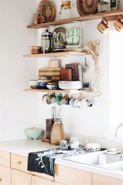 shelves design for kitchen best 25 homey kitchen ideas on bohemian