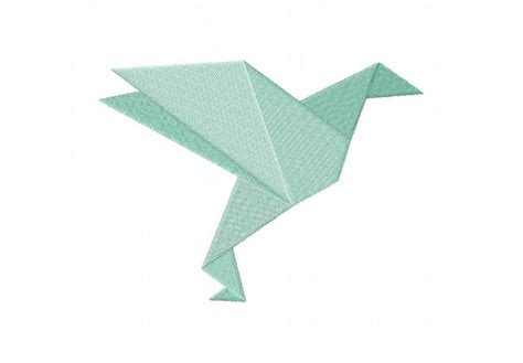 origami birds pdf origami birds machine embroidery designs pack embroidery