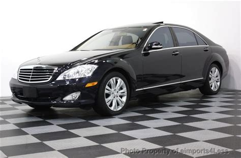 2008 Mercedes S550 4matic by 2008 Used Mercedes S Class S550 4matic Awd Navigation