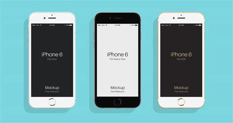 flat psd iphone 6 amp 6s mockup psd mock up templates