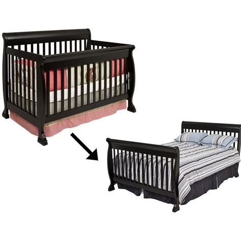 convertible crib size bed davinci kalani 4 in 1 convertible crib set w