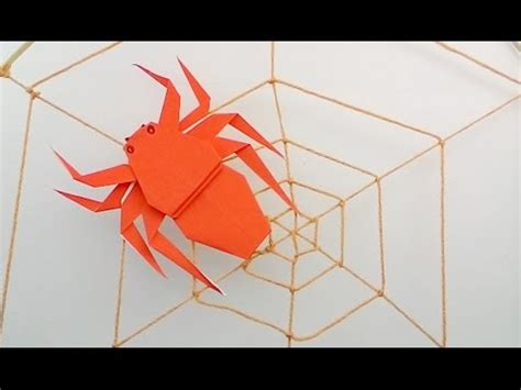 how to make origami spider jumping origami spider doovi