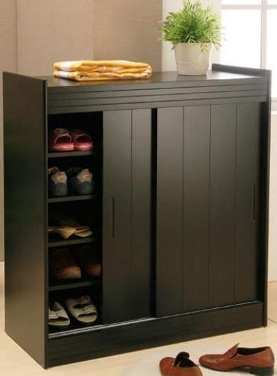 black shoe cabinet with doors 36 best images about shoe cabinet on modern