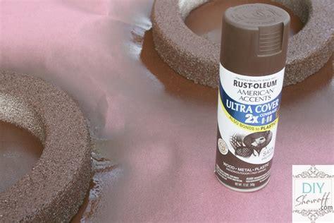 spray painting styrofoam styrofoam convex mirror tutorial diy show diy