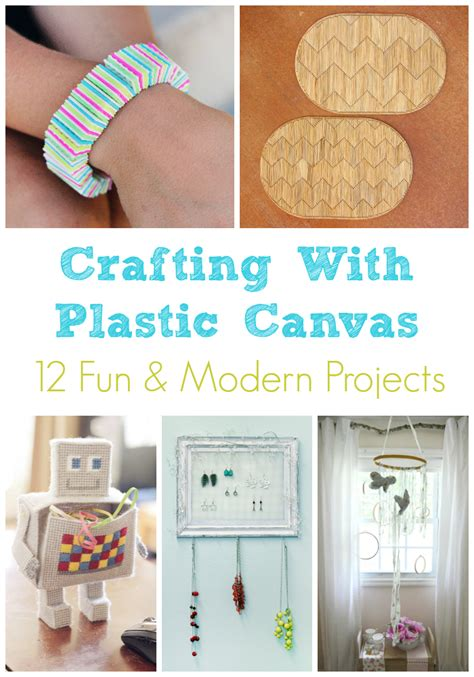 canvas crafts for plastic canvas roundup 12 modern craft ideas