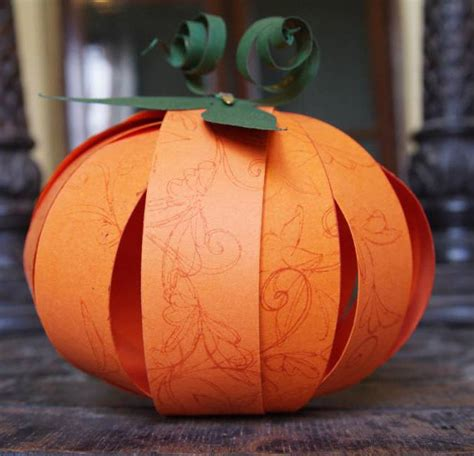 paper pumpkin craft paper pumpkins mysuperfoods