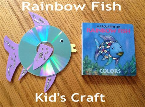 dltks crafts for rainbow fish the sea topic