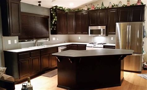 general finishes java gel stain kitchen cabinets kitchen makeover in java gel stain general finishes