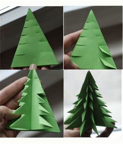 origami weihnachtsbaum anleitung 25 unique 3d tree ideas on tree crafts paper