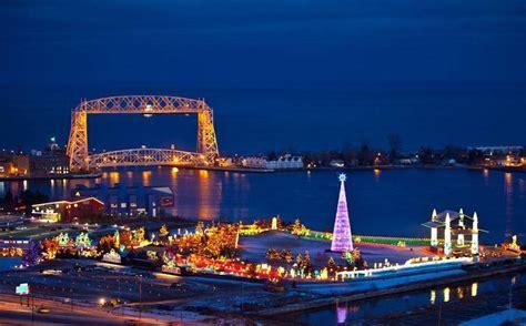 lights duluth mn bentleyville usa bayfront festival park duluth mn