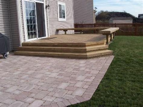 deck to patio designs patio deck pictures and ideas