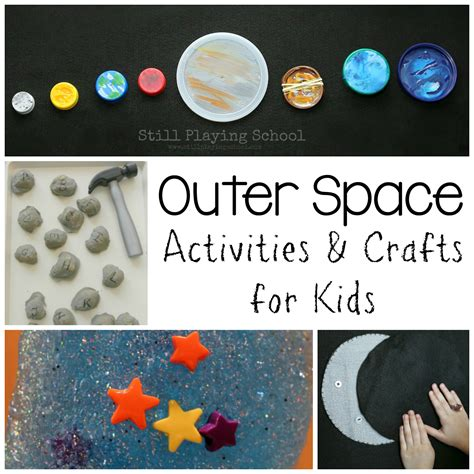 outer space crafts for outer space activities for still school