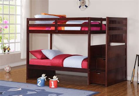 ebay bunk beds with stairs classic bunk bed with stairs with storage