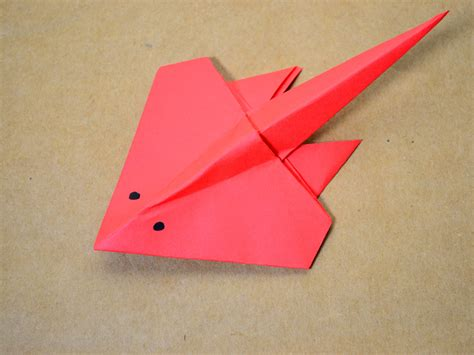 sting paper crafts how to make an origami stingray 13 steps with pictures