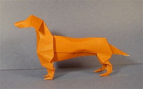 dachshund origami dachshund origami sculptures the unofficial