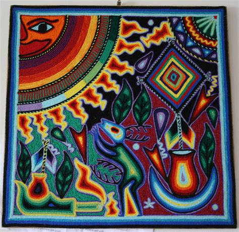 huichol bead symbols huichol symbols images