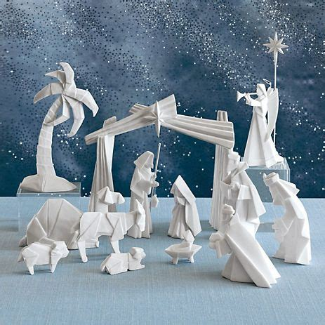 origami nativity set 17 best images about decorations on