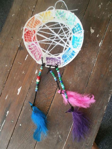 dreamcatcher craft for catcher craft summer theme