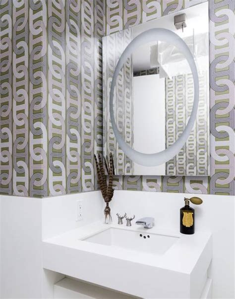 modern wallpaper bathroom 18 tips for rocking bathroom wallpaper