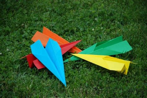paper airplane crafts for paper planes ted s