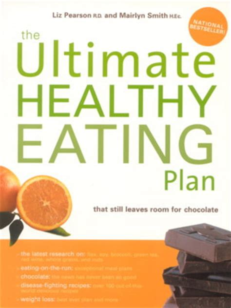 healthy picture books the ultimate healthy plan liz pearson
