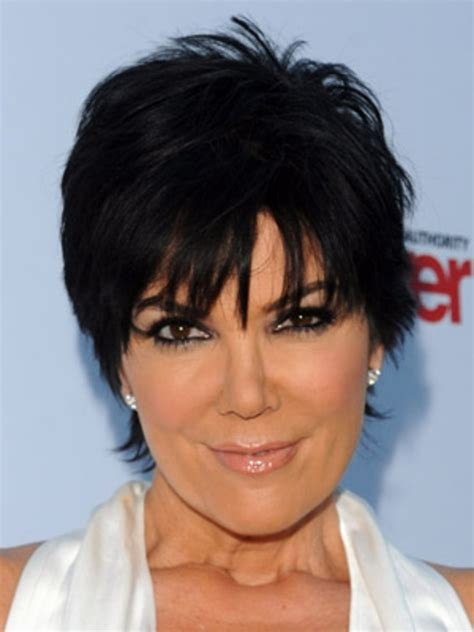 kris jenner haircut kris jenner and her short layered haircut hair world