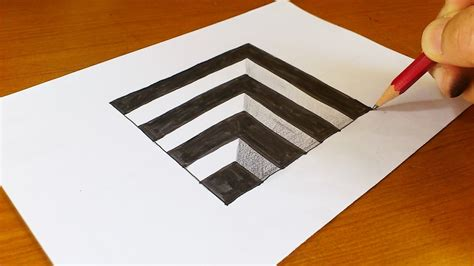 craft drawing paper easy how to draw 3d for anamorphic
