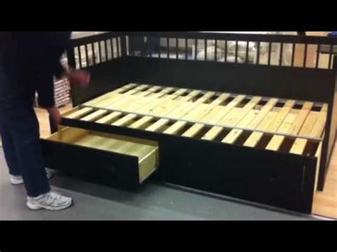 Ikea Space Saving Beds ikea converting bed youtube